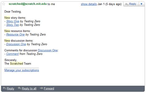 format email html python email notifications new features and request for testing