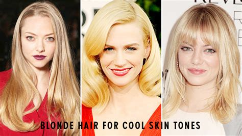 blonde colours for cool skin tones hair shades to complement your skin tone hair extensions