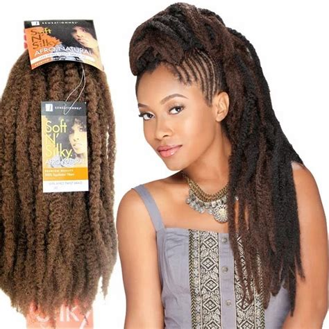 different types of marley hair m 232 ches pour tresses afro twist sensationnel