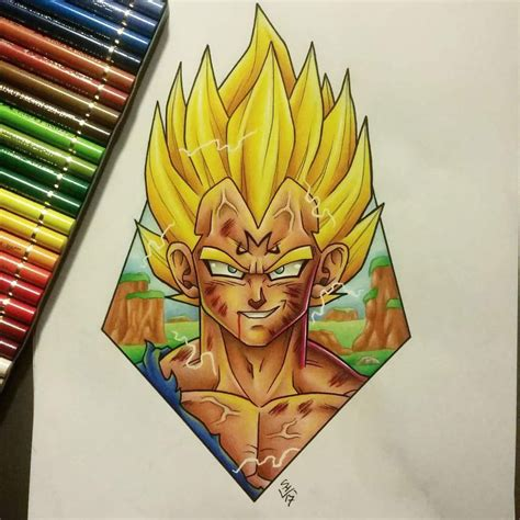 majin tattoo majin vegeta design by hamdoggz on deviantart