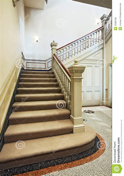victorian staircase stock photo image  cover