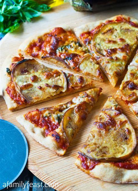eggplant  garlic pizza recipe  comfort foods