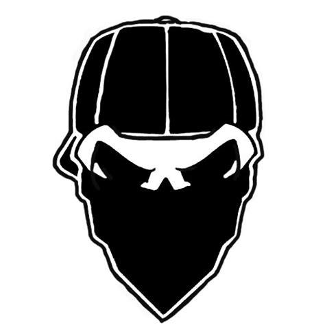 pattern white bandit mask skull and bandana coloring pages