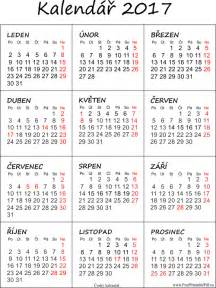 Kalendar 2018 Pdf Kalend 225 ř 2017 K Vytisknut 237 Pdf Soubory Pdf Zdarma Pro Tisk