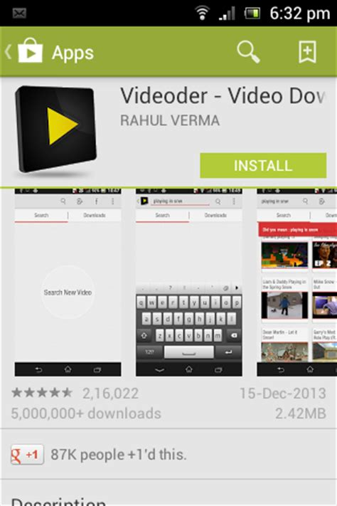 videoder apk webeeko how to on android device
