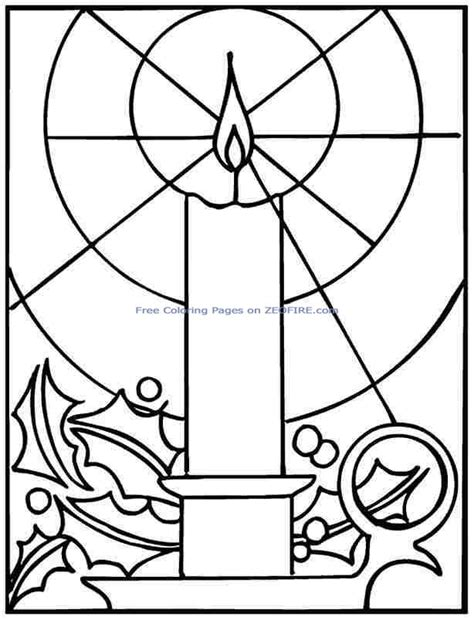 Christmas Lights Coloring Pages Printable Lights Coloring Pages