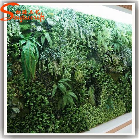 artificial garden flowers indoor artificial plant green wall hanging artificial