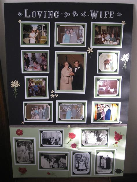picture board ideas 121 best memory boards memorial ideas images on