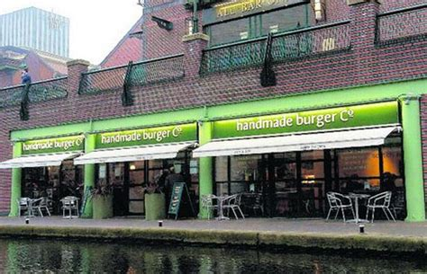 Handmade Burger Company Birmingham - handmade burger co the water s edge brindleyplace