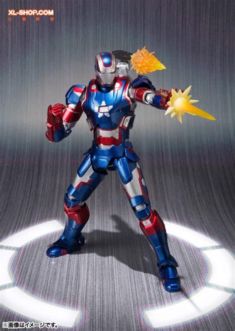 Bandai Shf Iron 3 Iron Patriot bandai s h figuarts iron 3 iron patriot japan ver
