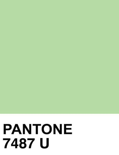 mint green pantone network title here