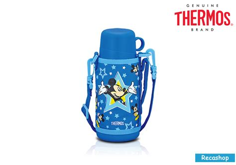 thermos 600ml disney bottle with dual spout mickey