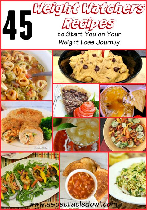 weight watchers start recipes 45 weight watchers recipes to start you on your weight