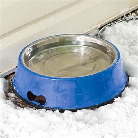 heated bowl heated pet bowl the green