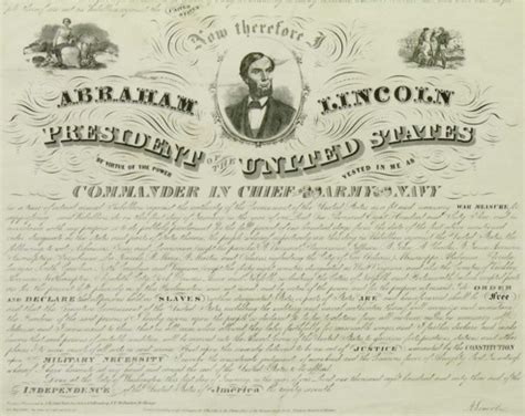 emancipation proclamation lincoln the emancipation proclamation document abraham lincoln