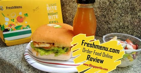 sparkle food reviews freshmenu food delivery app website review bling sparkle
