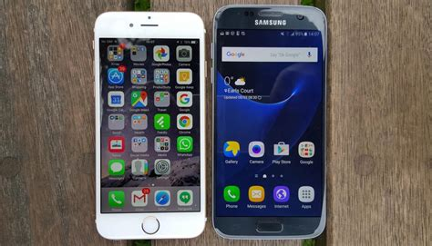 galaxy s7 vs iphone 6s review easy wins big losses