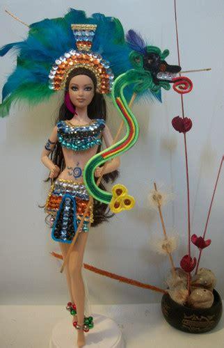 imagenes de vestuarios aztecas vestidos de danza azteca