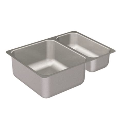 moen stainless steel kitchen sinks moen 22239 camelot stainless steel 20 bowl