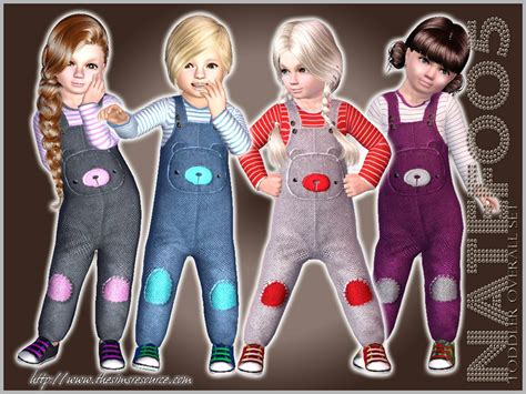 Cc Set Channel Overall natef005 s toddler overall set