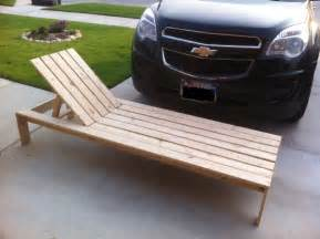 Diy Chaise Lounge How To Build A Comfortable Chaise Lounge For Outdoor Use