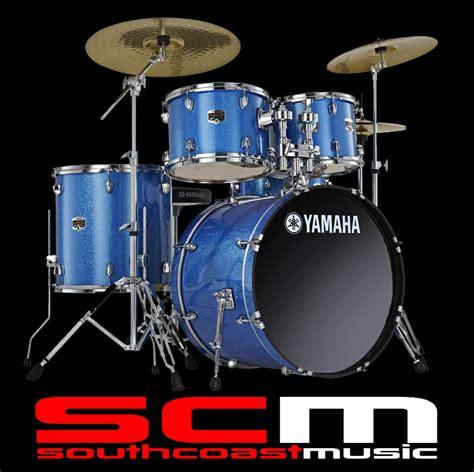 Kaos Yamaha Drums P yamaha gigmaker plus fusion drum kit blue glitter