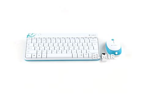 Grosir Logitech Mk240 Mini Wireless Keyboard White logitech wireless combo mk240 white 920 005791