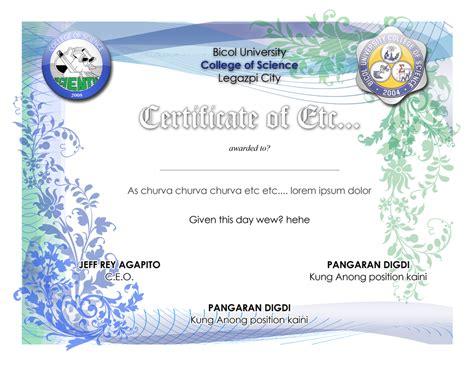 design for certificate certificate design by chichiwiya on deviantart