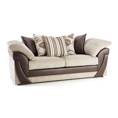 Lush Scatter Back 3 Seater Sofa Next Day Delivery Lush