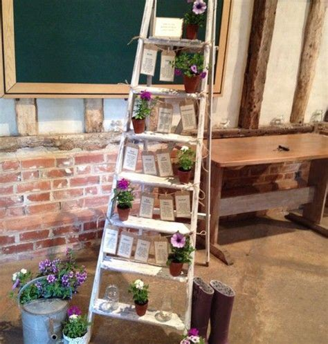 Wooden Step Ladder   Shabby Chic   For Use As Wedding