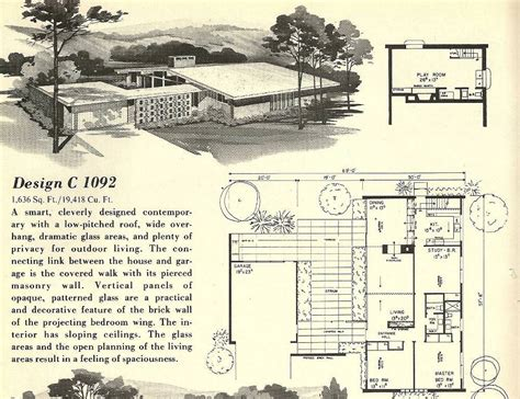 atomic ranch floor plans atomic ranch house plans home design stylinghome design