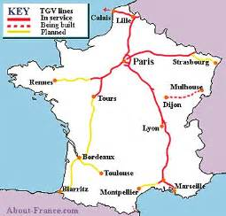 Tgv Route Map by Tgv France Train Map Car Tuning