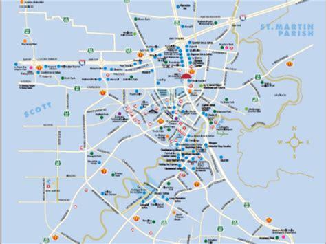 louisiana map distances map directions lafayette la trip planner