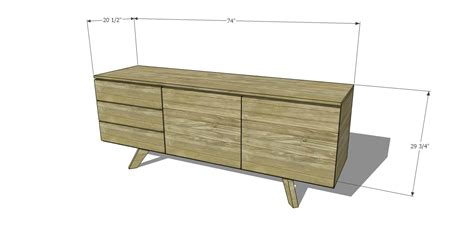 build mid century modern furniture free diy furniture plans to build an mid century modern