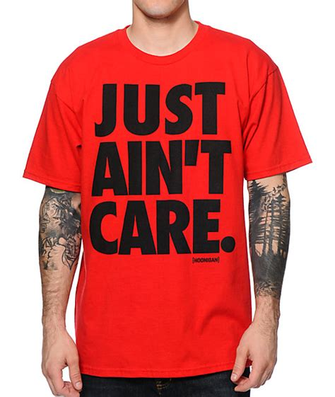 hoonigan just ain t care t shirt at zumiez pdp