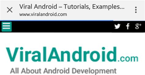 tutorial android ui development android chrome custom tabs android tutorial with exle