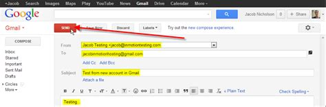 send mail via gmail when server ip is blocked inmotion hosting
