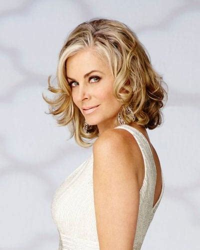 soap opera stars hair wigs men tonight eileen davidson officially joins the real