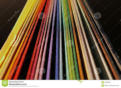 colored card stock colored card stock photo image 49205290