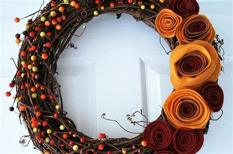 wreath ideas front door how to make front door wreaths for fall diy projects craft