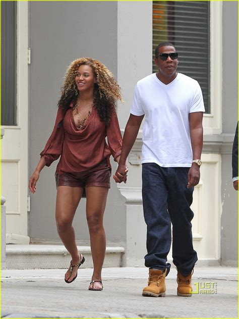 full sized photo of beyonce pregnant jay z new york city