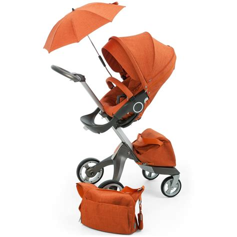 3in1 Bag stokke xplory stoller 3 in 1 kit orange melange