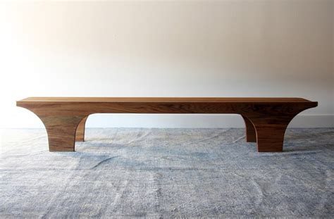 contemporary benches indoor scoop bench by henrybuilt furniture contemporary