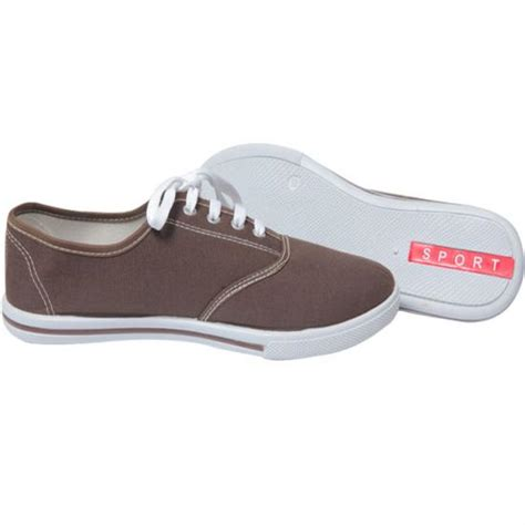 Hiren Flat Shoes N Co new gents lace up flat shoes boys brown canvas