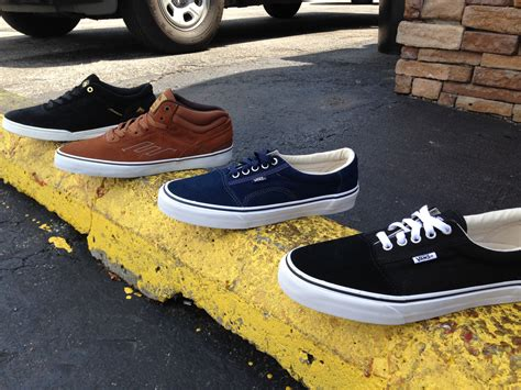 newest shoes new shoes vans and emerica phatman boardshop