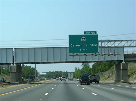 theme line charlotte north carolina aaroads interstate 77 south charlotte