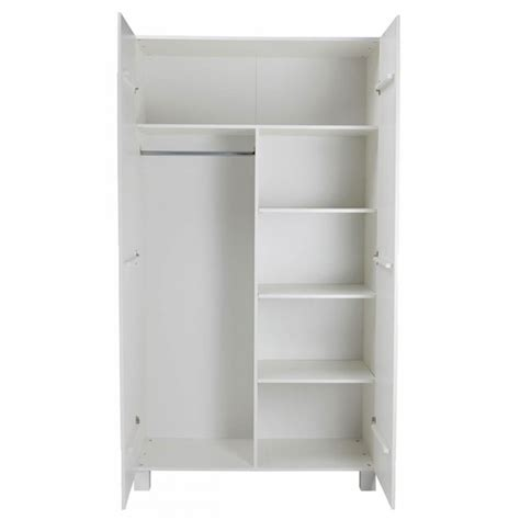 Armoire 2 Portes But by Armoire 2 Portes En Pin Masssif Blanc Design Scandinave Denis