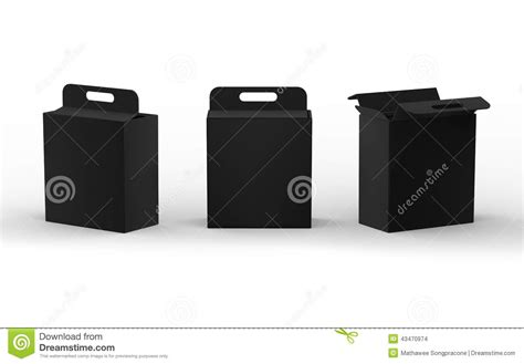 Hult Mba Black Box Package Admission by Black Cardboard Paper Box Packaging With Handle Clipping