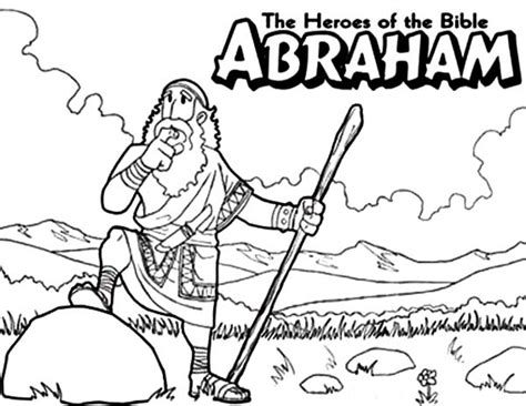 free coloring pages bible heroes free coloring pages of abraham of
