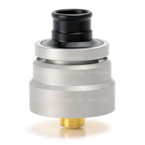 Rda Atomizer 22mm sxk ddp style silver 22mm rda rebuildable atomizer